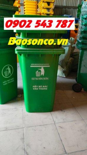 Thùng rác nhựa 120 lít giá rẻ toàn quốc2