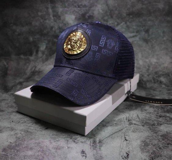 Nón kết mũ lưỡi trai nam thời trang cao cấp logo Vsc tròn1