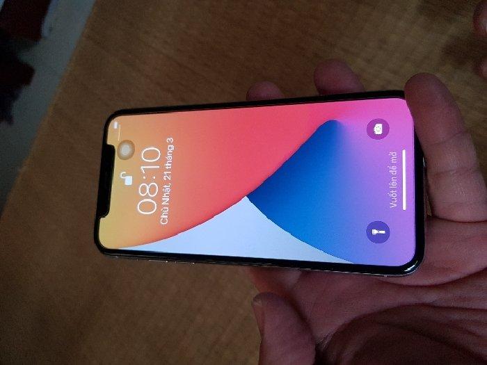 Iphone X trả bảo hành,mới,pin 100%3