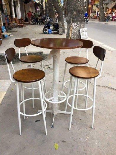 Bộ bàn ghế QUẦY đẹp2