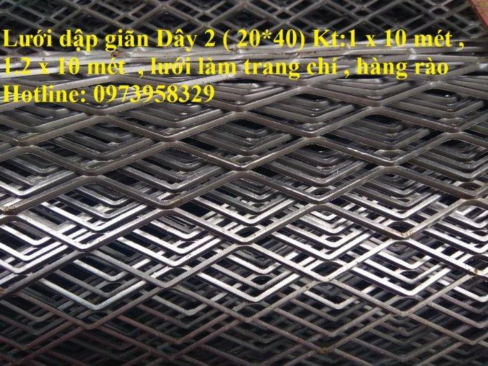 Lưới hình thoi - lưới chám - lưới dập giãn dây 1 (10*20),1.5 (15*30),2 ( 20*40),3(30*60) ,( 45*90) , làm trang chí , sàn thao tác12