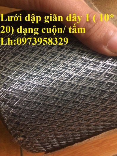 Lưới hình thoi - lưới chám - lưới dập giãn dây 1 (10*20),1.5 (15*30),2 ( 20*40),3(30*60) ,( 45*90) , làm trang chí , sàn thao tác6
