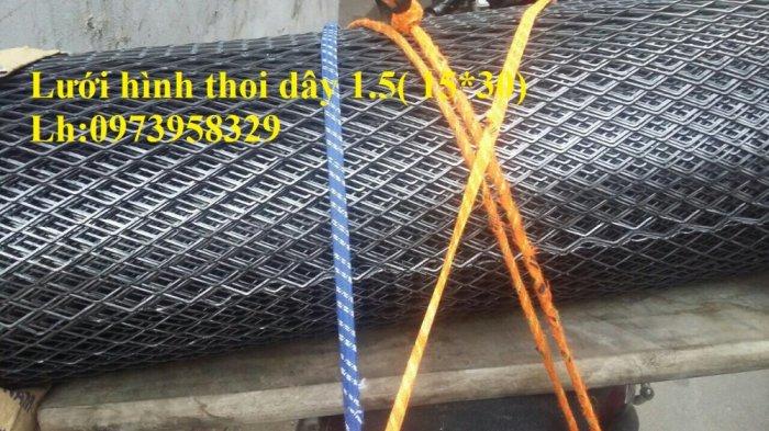 Lưới hình thoi - lưới chám - lưới dập giãn dây 1 (10*20),1.5 (15*30),2 ( 20*40),3(30*60) ,( 45*90) , làm trang chí , sàn thao tác2
