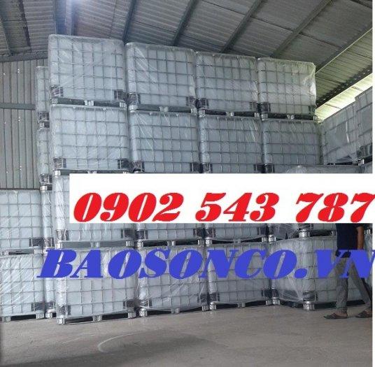 Thanh lý thùng nhựa IBC giả phóng kho tại Sài Gòn3