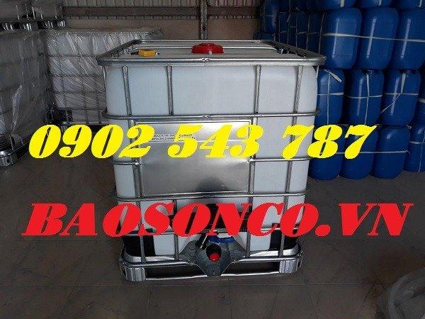 Thanh lý thùng nhựa IBC giả phóng kho tại Sài Gòn1