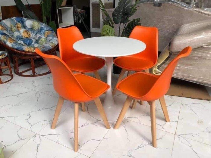 Ghế cao cấp cafe nhựa chân gỗ bọc nệm giá rẻ nhất3