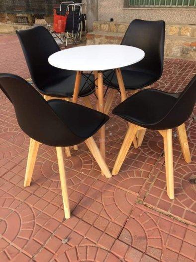 Ghế cao cấp cafe nhựa chân gỗ bọc nệm giá rẻ nhất2