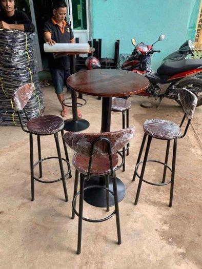 Bàn ghế cafe mỹ nghệ giá gốc từ nội thất QUANG ĐẠI2