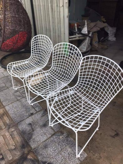 Ghế sắt mỹ nghệ Karo1