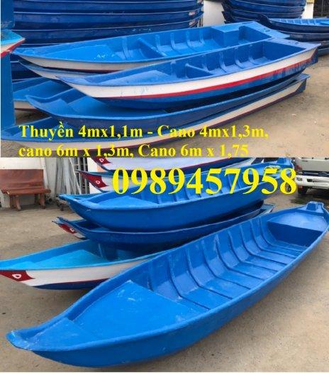 Thuyền câu cá cho 2 người, Thuyền chèo tay 3m, Thuyền 3,5m1