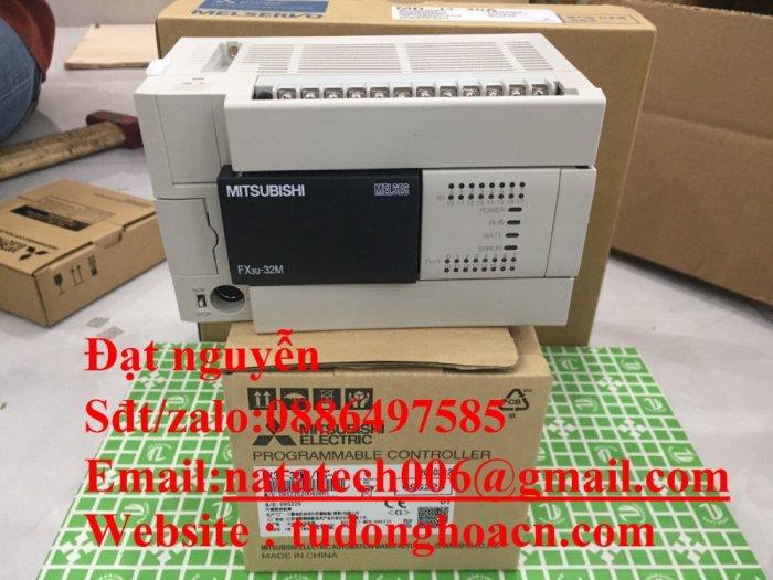 Bộ điều khiển FX3u-32MT es/a , mới 100% - Công Ty NATATECH0