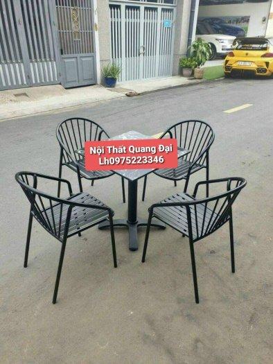Bộ bàn ghế sắt mỹ nghệ5