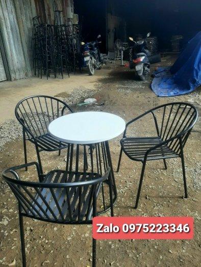 Bộ bàn ghế sắt mỹ nghệ2