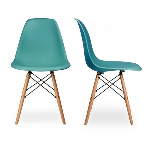 Ghế nhựa chân gỗ cao cấp giá tại xưỡng Ak0062