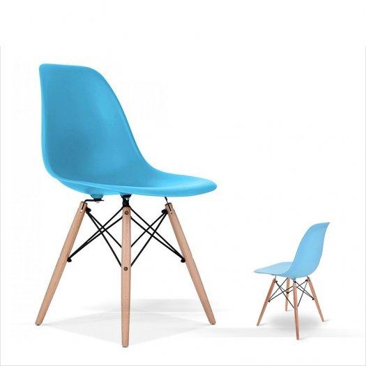 Ghế nhựa chân gỗ cao cấp giá tại xưỡng Ak0061
