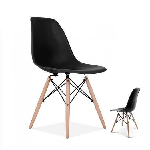 Ghế nhựa chân gỗ cao cấp giá tại xưỡng Ak0060