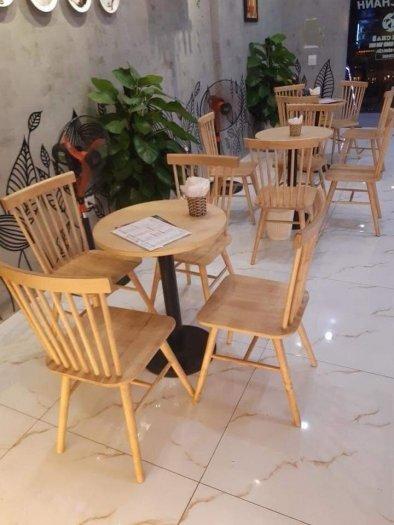 Bàn ghế gỗ sơn màu giá rẻ0