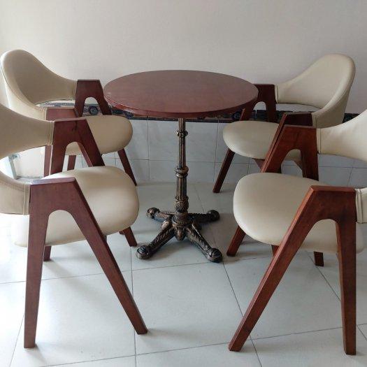 Bàn ghế chữ A bọc nệm cafe giá rẻ bán trực tiếp tại nơi sản xuất3