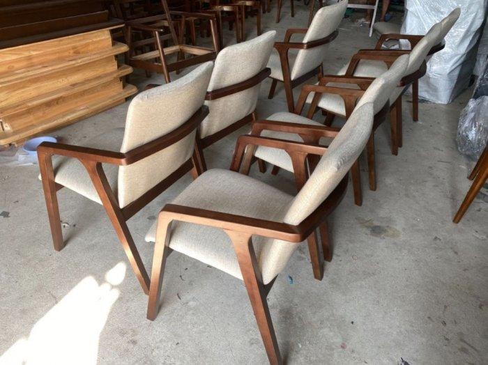 Bàn ghế cafe gỗ sơn P,U2