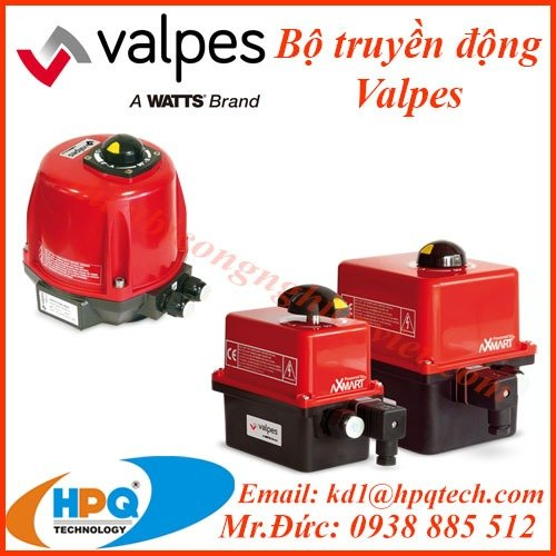 Bộ truyền động điện Valpes | Nhà cung cấp Valpes Việt Nam2