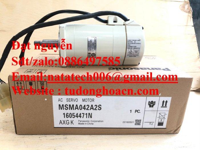 Động cơ MSMA042A2S panasonic mới 100% - Công ty NATATECH1