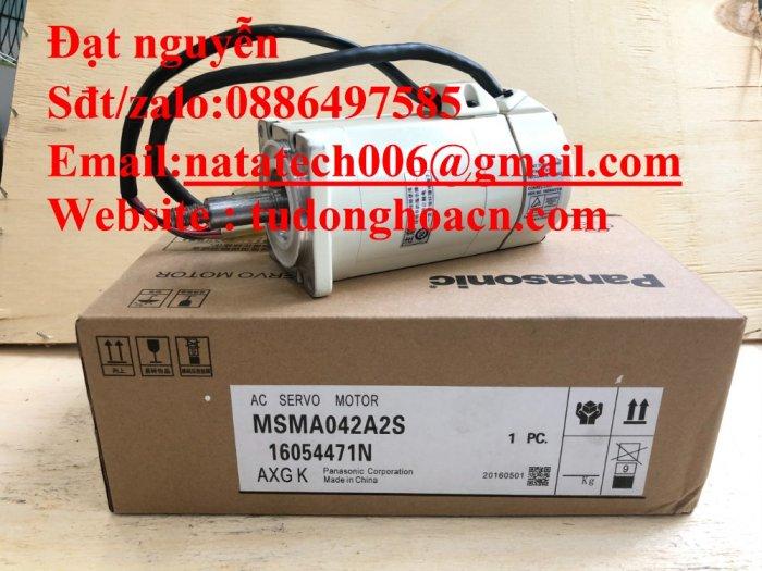 Động cơ MSMA042A2S panasonic mới 100% - Công ty NATATECH0