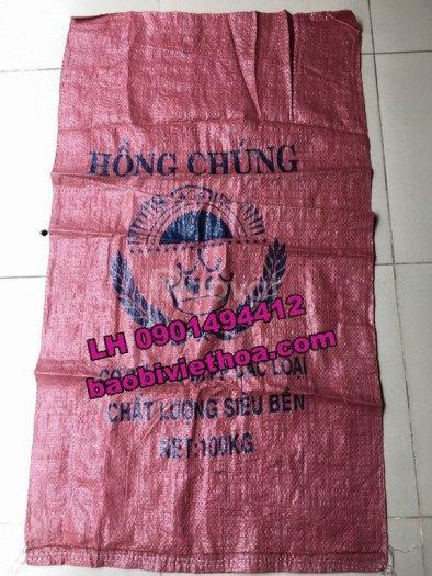 Bao đựng gạo PP dệt Hồng Chúng3