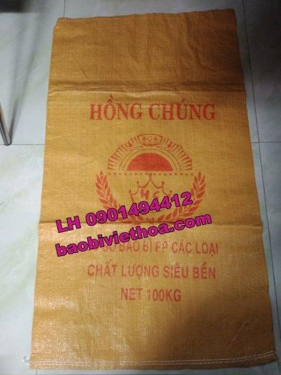 Bao đựng gạo PP dệt Hồng Chúng2