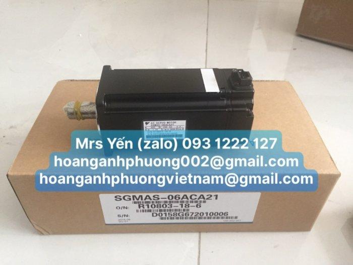 SGMAS-06ACA21 AC Servo motor YASKAWA _CTy Hoàng Anh Phương2