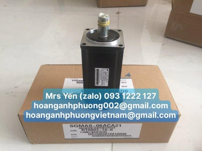 SGMAS-06ACA21 AC Servo motor YASKAWA _CTy Hoàng Anh Phương1