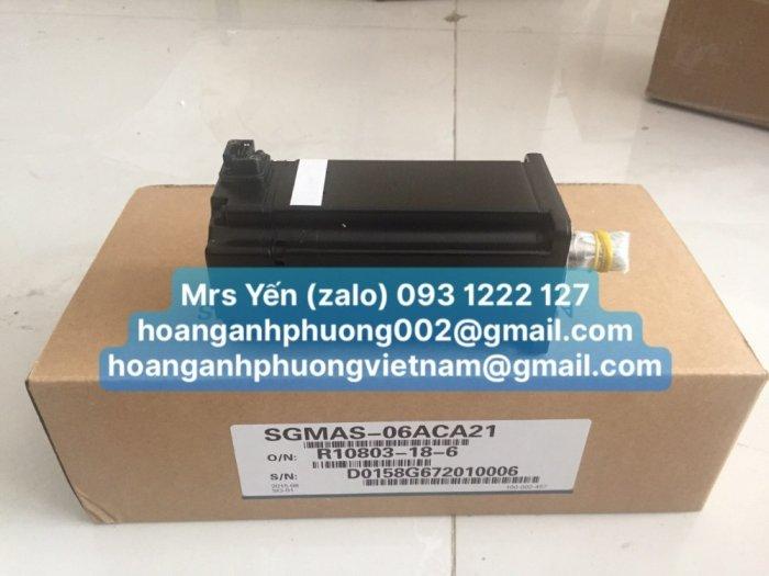 SGMAS-06ACA21 AC Servo motor YASKAWA _CTy Hoàng Anh Phương0