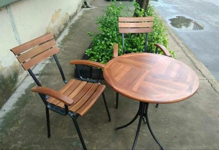 Bàn ghế gỗ Pasiban0