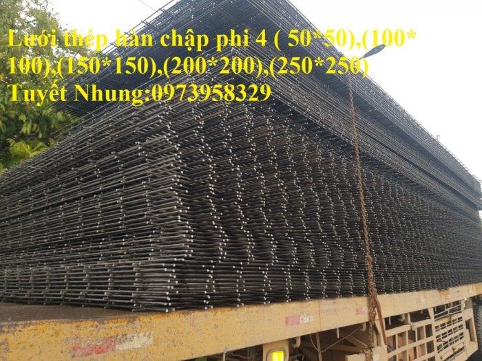 Sản xuất lưới thép hàn đổ sàn bê tông nhà sưởng phi 4 ( 100*100),(150*150),(200*200),(250*250) phân phối toàn quốc14