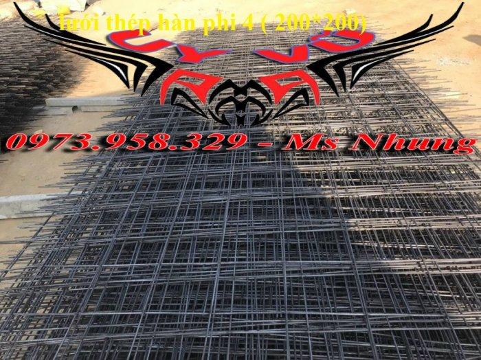 Sản xuất lưới thép hàn đổ sàn bê tông nhà sưởng phi 4 ( 100*100),(150*150),(200*200),(250*250) phân phối toàn quốc10