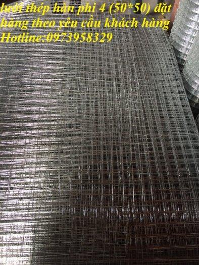 Sản xuất lưới thép hàn đổ sàn bê tông nhà sưởng phi 4 ( 100*100),(150*150),(200*200),(250*250) phân phối toàn quốc8