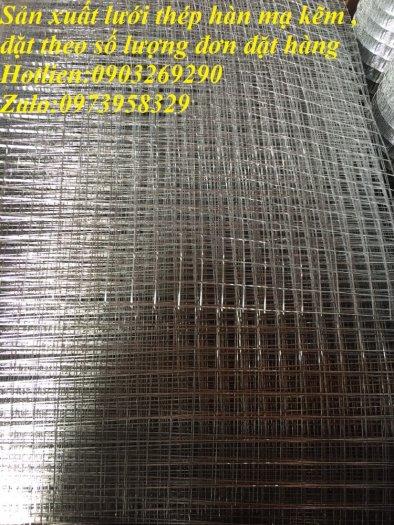 Sản xuất lưới thép hàn đổ sàn bê tông nhà sưởng phi 4 ( 100*100),(150*150),(200*200),(250*250) phân phối toàn quốc7