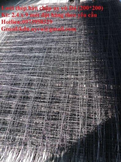 Sản xuất lưới thép hàn đổ sàn bê tông nhà sưởng phi 4 ( 100*100),(150*150),(200*200),(250*250) phân phối toàn quốc6