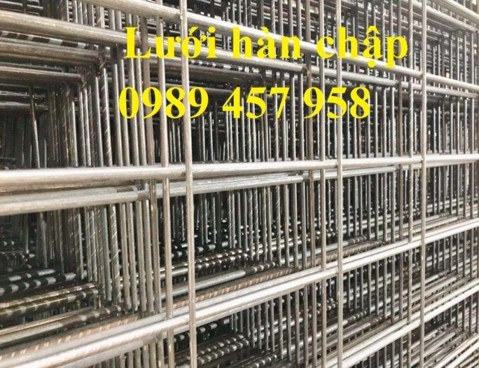 Lưới thép hàn D4 a100x100, D4a200x200 lưới đen2
