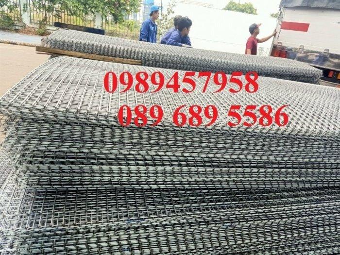 Lưới thép hàn D4 a100x100, D4a200x200 lưới đen1