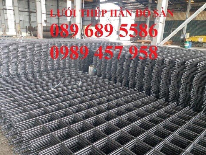 Lưới thép hàn D4 a100x100, D4a200x200 lưới đen0
