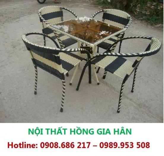 Xả Kho 50 Bộ Bàn Ghế Cafe Sân Vườn HGH MN030