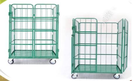 Xe đẩy lồng thép cửa lưới,Xe đẩy lồng, xe đẩy lưới, xe đẩy thép, xe đẩy hàng,Xe đẩy lồng thép, xe đẩy hàng 2 tầng,2