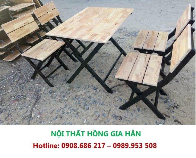 Thanh Lý 50 Bộ Bàn Ghế Nhà Hàng, Khách Sạn Hgh Gs020