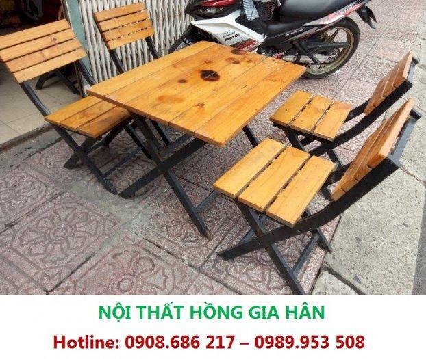 Bàn Ghế Cafe Nhà Hàng Khách Sạn Cực Xịn Xò Hgh Gs030
