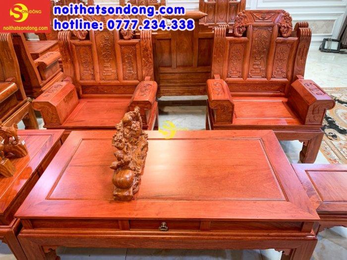 Bộ bàn ghế Tần thủy hoàng như ý trương voi4