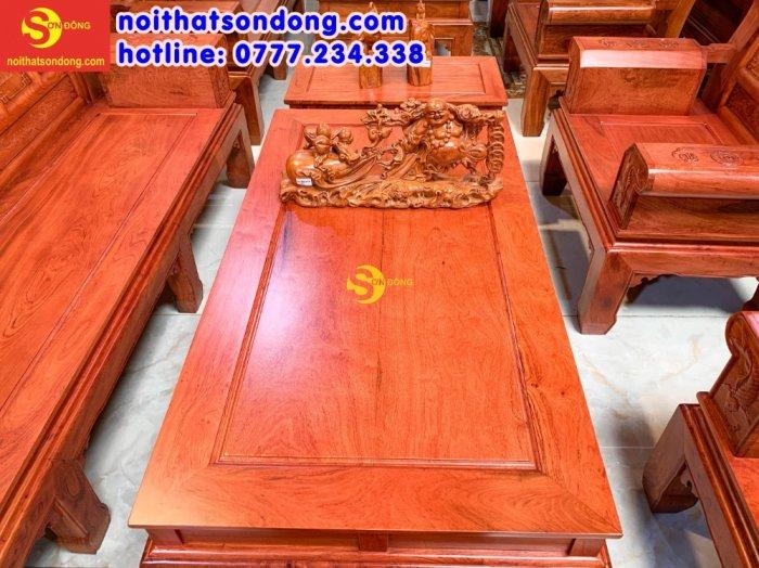 Bộ bàn ghế Tần thủy hoàng như ý trương voi3