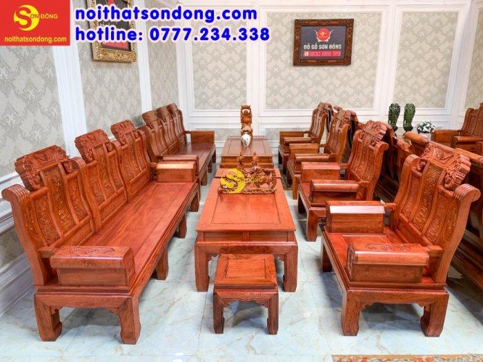 Bộ bàn ghế Tần thủy hoàng như ý trương voi2