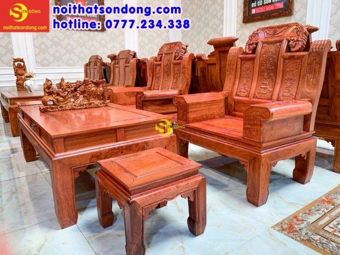 Bộ bàn ghế Tần thủy hoàng như ý trương voi1