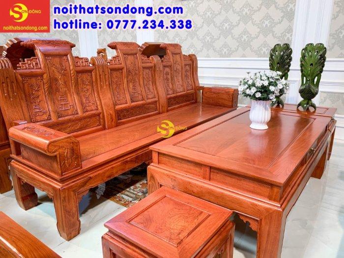 Bộ bàn ghế tần thủy hoàng tứ quý tay hộp cá chép 6 món4