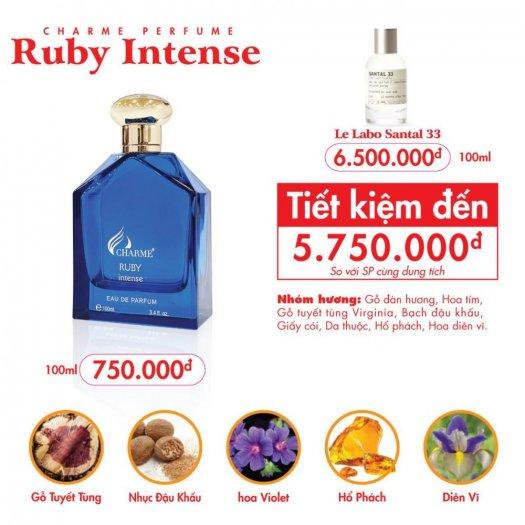 Nước hoa nam Charme Ruby Intense 100ml1